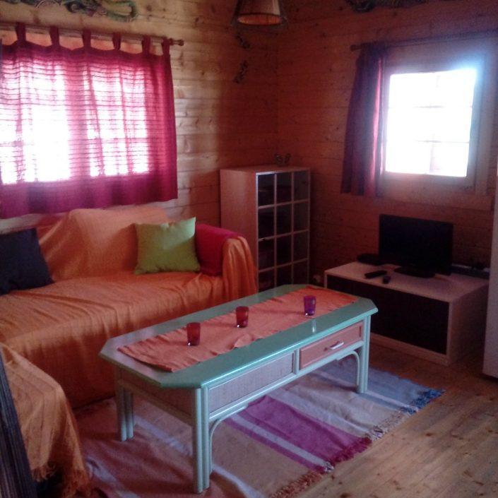 Wohnzimmer Casa Salamandra